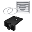 "AC01291 - 5""Ø FRESH AIR INTAKE KIT FOR WOOD STOVE ON LEGS"