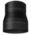7'' TO 6'' REDUCER SINGLE WALL BLACK PIPE