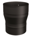 7'' TO 8'' INCREASER SINGLE WALL BLACK PIPE