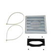 "AC01298 - 5""Ø FRESH AIR INTAKE KIT OVAL"